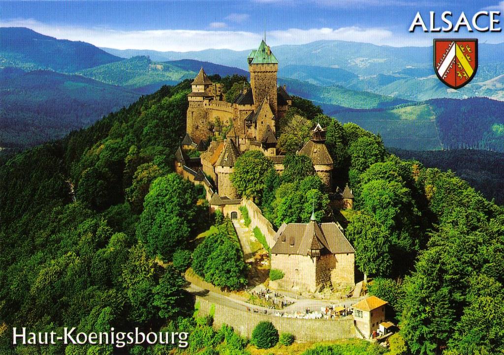 Haut-Koenigsbourg (Alsace), France