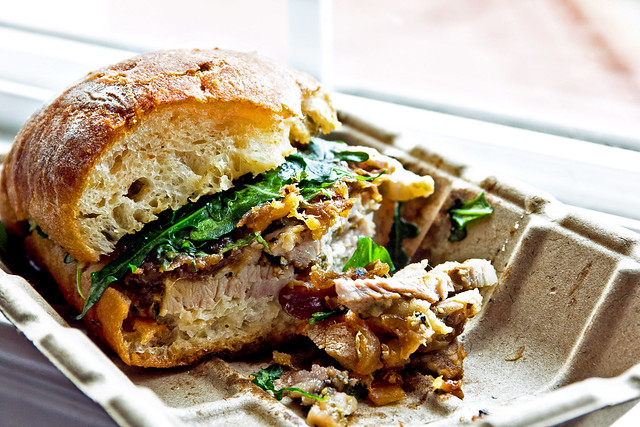 Porchetta Sandwich | Flickr - Photo Sharing!