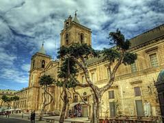 The Cathedral in Valletta, Malta