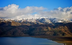 Clouds And Snow Over Calaveras Range (1)