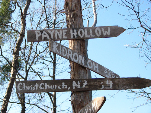 Payne Hollow Sign by paynehollow