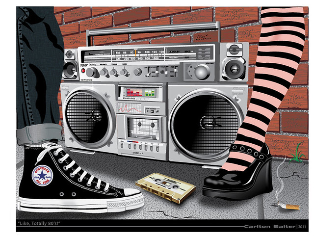 boombox-80s-art | Flickr - Photo Sharing!