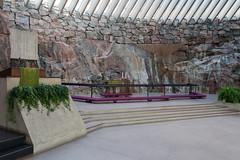 Église Temppeliaukio d'Helsinki
