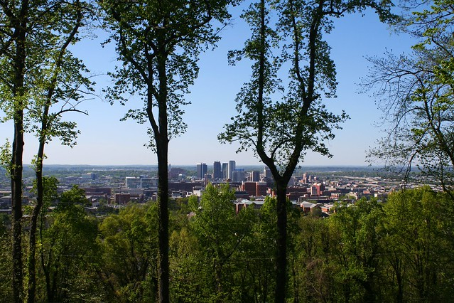 View from Vulcan Park