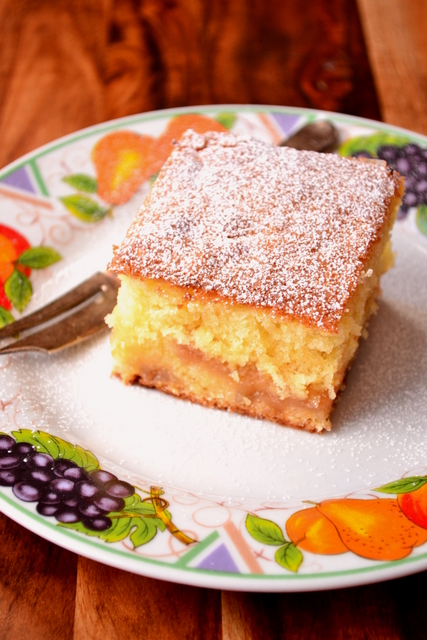 Rhubarb cake recipe uk