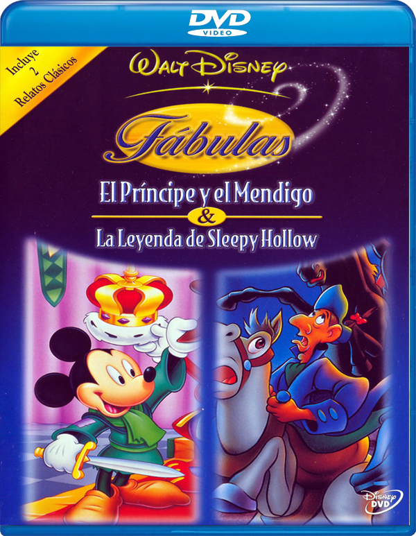 14013314714 abcca125cc o - Fabulas Disney Volumen 1 [DVD5][Castellano,  Inglés, Noruego,][Animacion][1990][1Fichier - Uploaded]