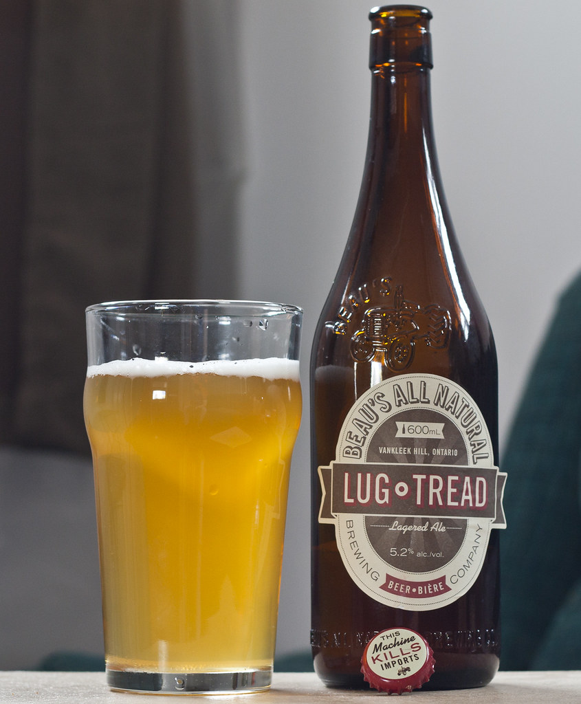 Review: Beau's All Natural Lug Tread Lagered Ale