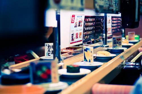 A Sushi Bar in Wakayama, Japan [October 2010]
