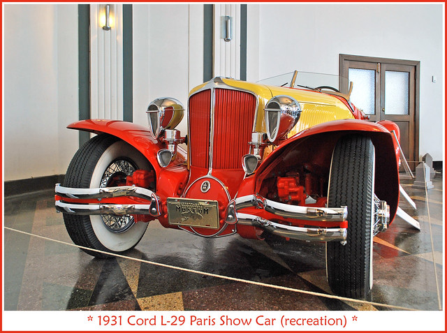 1931 Cord L-29 Show Car