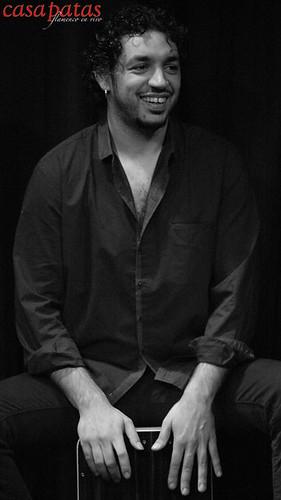 Luky Losada, percusionista. Foto: Martín Guerrero