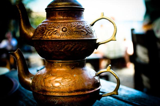 Турецкий заварочный чайник