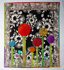 Modern Poppy Quilt
