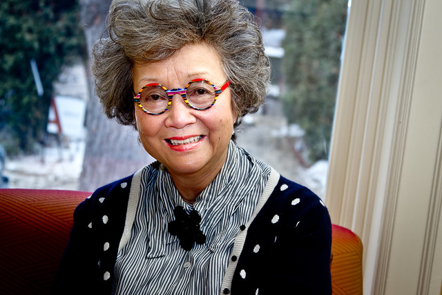 Header of Adrienne Clarkson