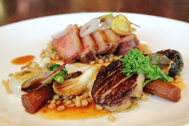 Tea smoked La Ferme duck breast | Flickr - Photo Sharing!