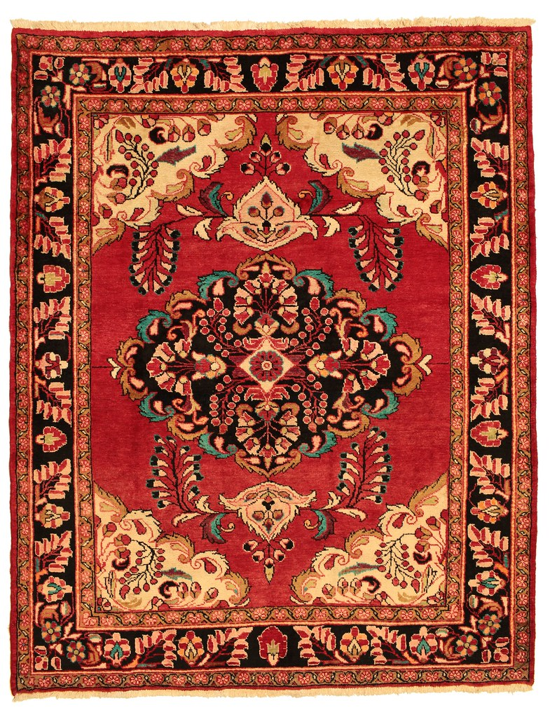 Mehraban carpet 208x164 from Persia / Iran