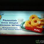 Fish Donuts - Not the Most Appetizing Offer from KFC, Kuala Lumpur (Malaysia)