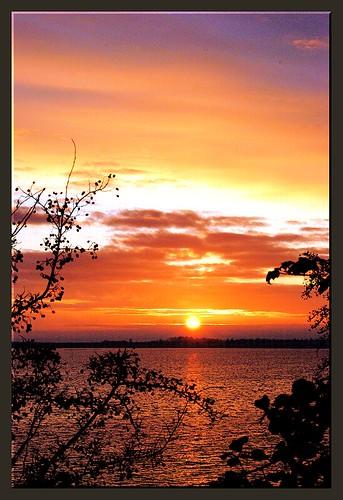 sea sun sunrise denmark struer perkriz