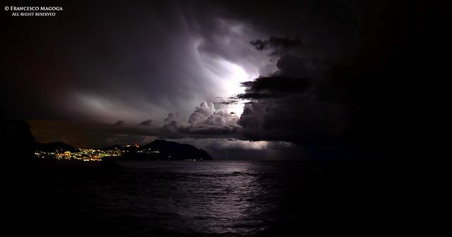 Light gash in november sky [Flickr blog]