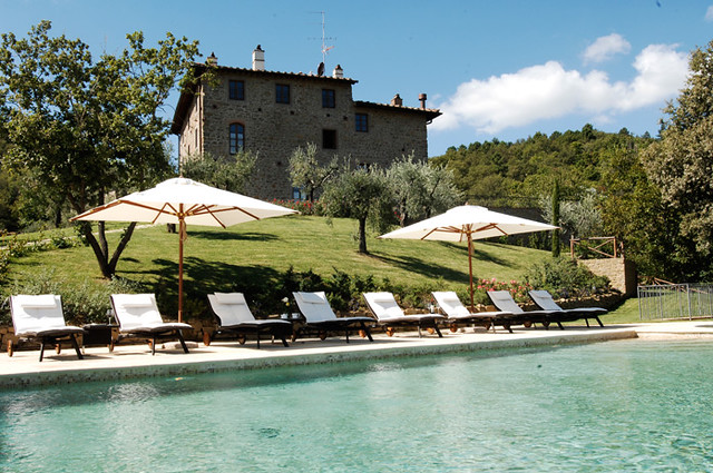 Le Lappe - swimming pool in Chianti - Agriturismo con piscina