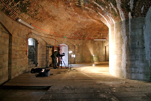 The Round Tower - Filming