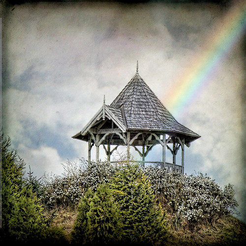 sky texture clouds canon square rainbow hill gazebo explore tasmania belvedere grindelwald folly whimsical magicunicornverybest magicunicornmasterpiece follyonthehill