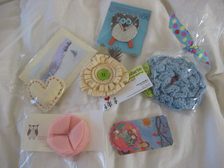 brooch exchange - received