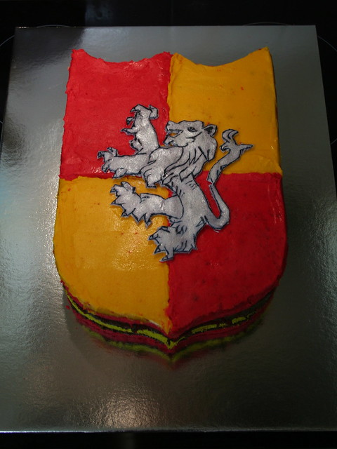 Gryffindor Cake Flickr Photo Sharing