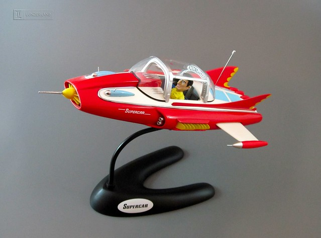 Toy Models Product : Gerry anderson supercar die cast by product enterprise
