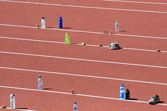 obstacle race(0.0), running(0.0), 4 㗠100 metres relay(0.0), hurdle(0.0), physical exercise(0.0), hurdling(0.0), sprint(1.0), athletics(1.0), track and field athletics(1.0), sport venue(1.0), 110 metres hurdles(1.0), 100 metres hurdles(1.0), sports(1.0), 800 metres(1.0), heptathlon(1.0), race track(1.0),