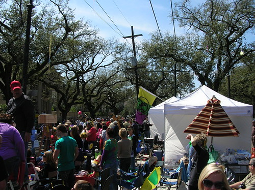 St. Charles Neutral Ground on Sunday