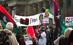Free libya from Gaddafi