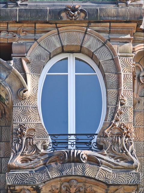 Immeuble art nouveau de Jules Lavirotte à Paris