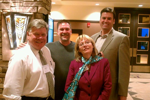 Hangin' with Barb Freestone, Tom Farley and John Foltz #aarwc #supercool