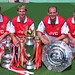 The Arsenal Back Four by Stuart MacFarlane
