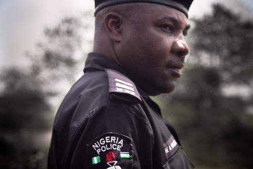 africa portrait people soldier person war gun force african police security civil weapon nigeria policeman protect seize nigerian strife