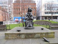 The Peace Garden statue, Manchester