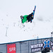Xavier Bertoni - Super pipe training on Monday