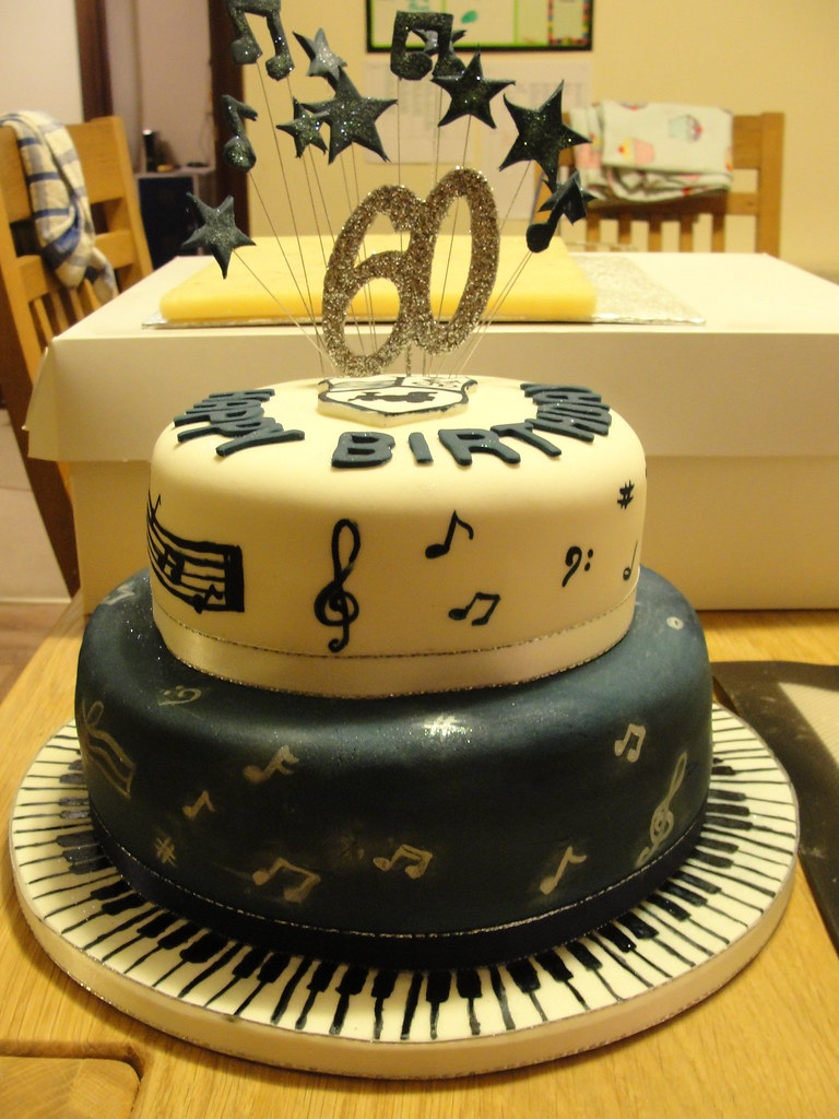 60th Birthday Cake Music Theme