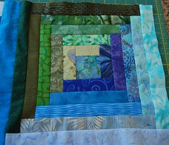 bed sheet(0.0), quilt(1.0), art(1.0), textile(1.0), patchwork(1.0), linens(1.0), quilting(1.0), craft(1.0), blue(1.0),
