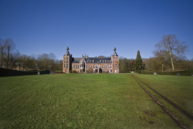 Frontal View of Arenbergkasteel