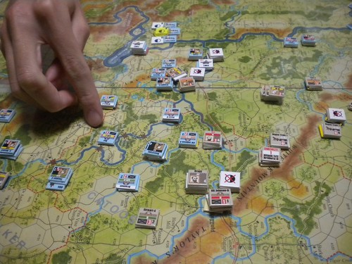 Battle Above the Clouds - Turn 24, Forrest and Longstreet attack Union left by Toshi Takasawa, on Flickr
