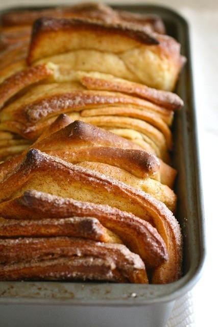 cinnamon sugar pull apart bread 2