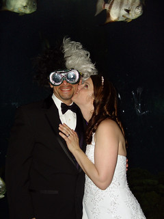 Mad Scientist Groom and Bride