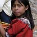 Muchacha - Girl at the Fiesta del pueblo; Joyabaj, El Quiché, Guatemala
