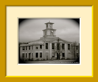 On the Wall: Yancey County Courthouse