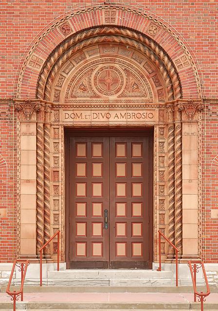 Saint Ambrose Roman Catholic Church In Saint Louis