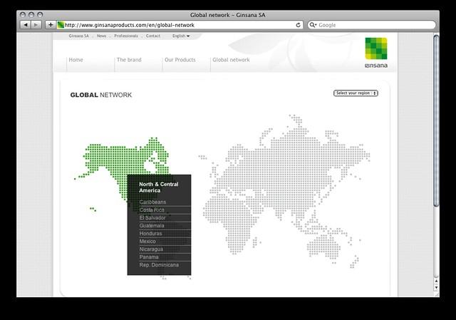 nuovo sito per ginsana new website for ginsana