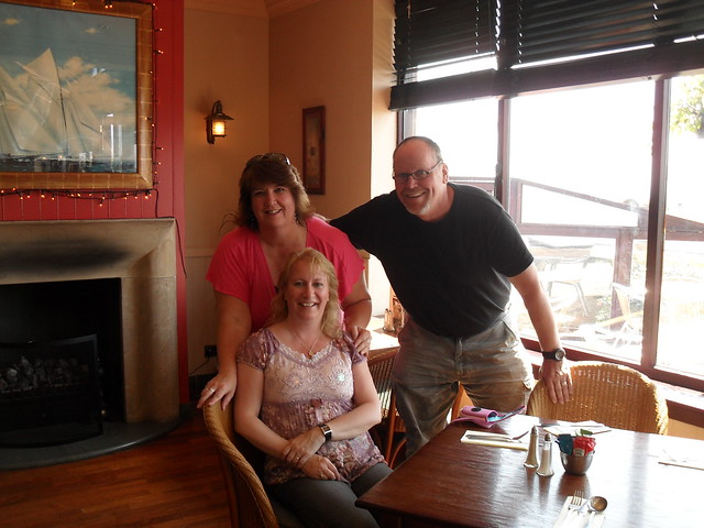 Catherine with Mike and Darla Bachelder