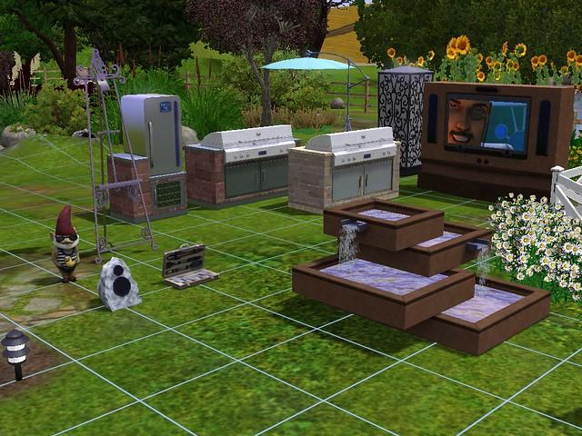 nuevas imagenes de los sims 3 patios y jardines taringa