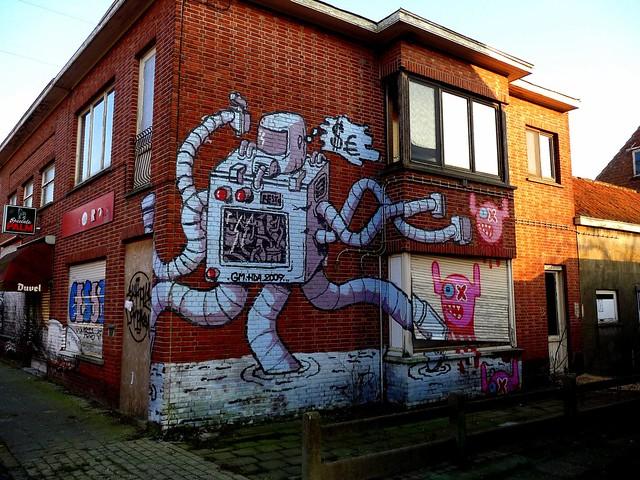graffiti | resto | doel . belgium